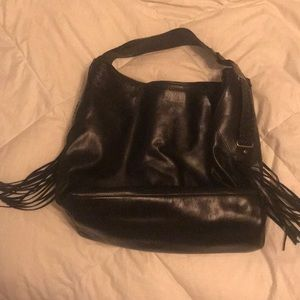 Cole Haan New Black Leather Purse